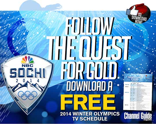 FREE Winter Olympics TV schedule 2014 printable version